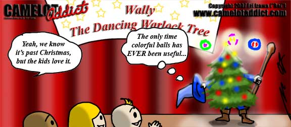 Warlock Balls ... good for something at last.